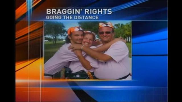 Braggin' Rights: Chris Gillespie Walks in '3-Day for the Cure'