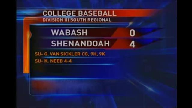 Division III Baseball Regional Playoff Scores 5/18