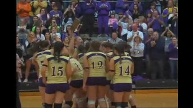 Smithsburg vs Catoctin Volleyball State Finals 11/19
