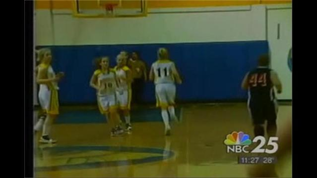 Petersburg vs. Berkeley Springs Girls Baskeball 2/24