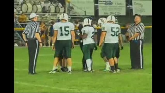South Hagerstown at Berkeley Springs Football 9/2