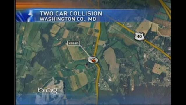 Police: One Person Flown To Shock Trauma After Accident