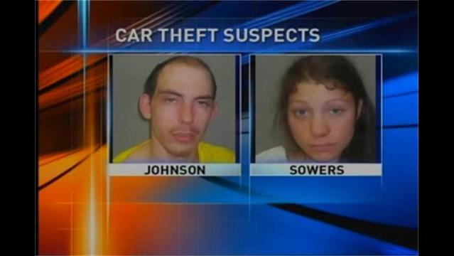 Police Say Cameras Caught Suspects Stealing Car at Walmart