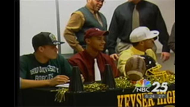 Keyser sends 3 to College Football