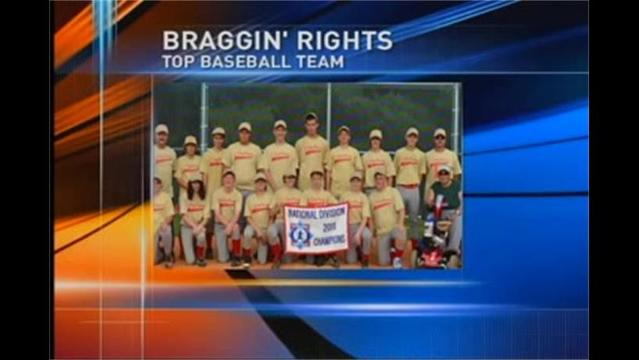 Braggin' Rights - Babe Ruth Team Wins Game