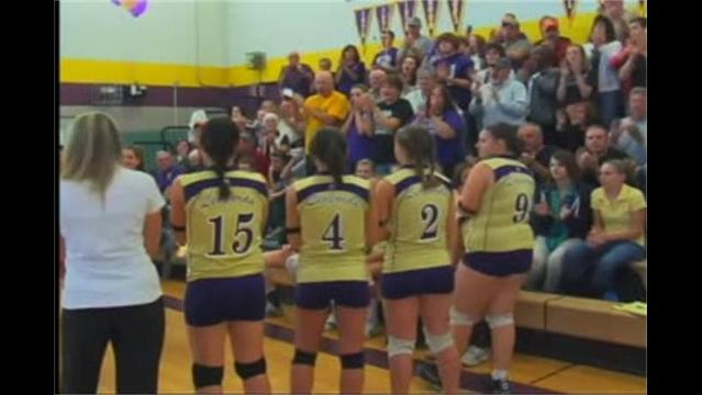 Fort Hill vs. Smithsburg Volleyball 11/13