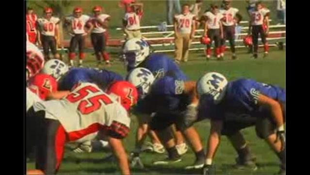 Mercersburg Aca. vs. Lawrenceville Aca. Football 10/2