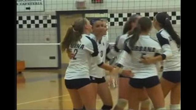 Urbana vs Frederick Volleyball 9/14