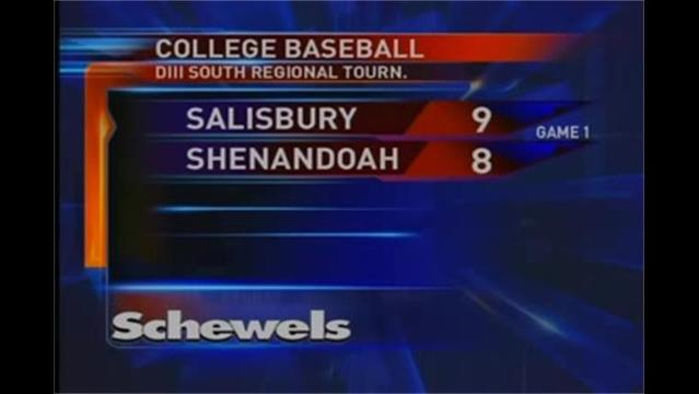 Shenandoah Baseball eliminated from NCAA by Salisbury