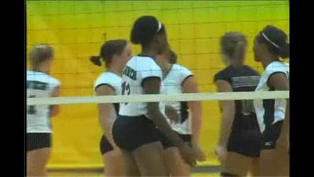 Allegany College vs. Hagerstown C.C. Volleyball 9/8