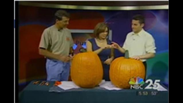 Pumpkin Carving At NBC25