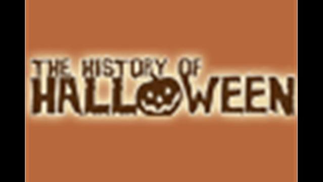 History of Halloween Block