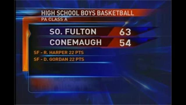 So. Fulton vs. Conemaugh Valley Boys Basketball