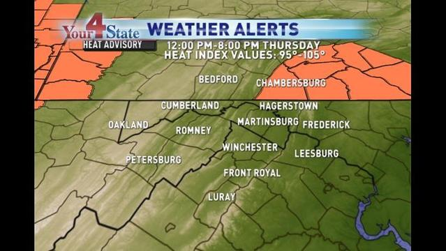 Extreme Heat Alert: Bryan's Wednesday Evening Forecast: 7/17/13