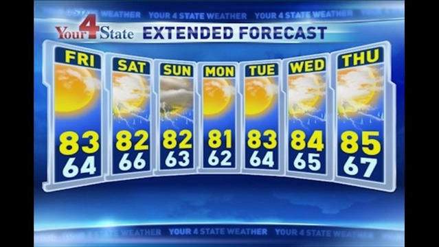 Dan's Thursday Evening Forecast: 7/25/13