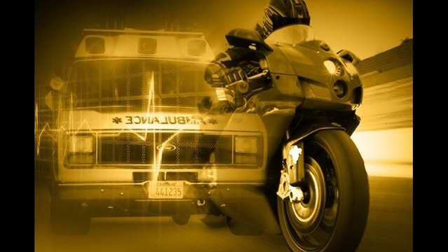 Motorcyclist Taken to Hospital in Rt. 340 Crash