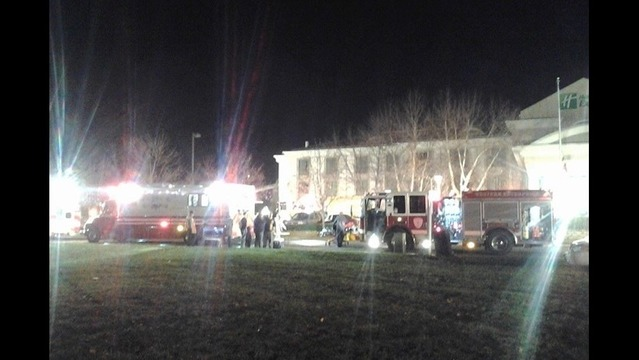 Crews Extinguish Fire at Hagerstown Holiday Inn