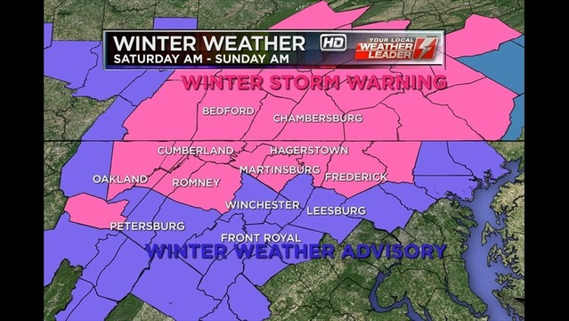 Winter Weather Alert: Bryan's Friday Evening Forecast: 12/13/13