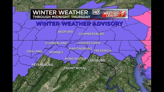 Winter Weather Alert: Bryan's Thursday Evening Forecast: 1/2/14