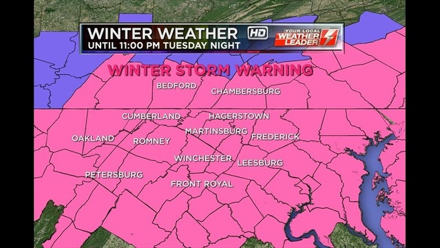Winter Weather Alert: Bryan's Tuesday Evening Forecast: 1/21/14