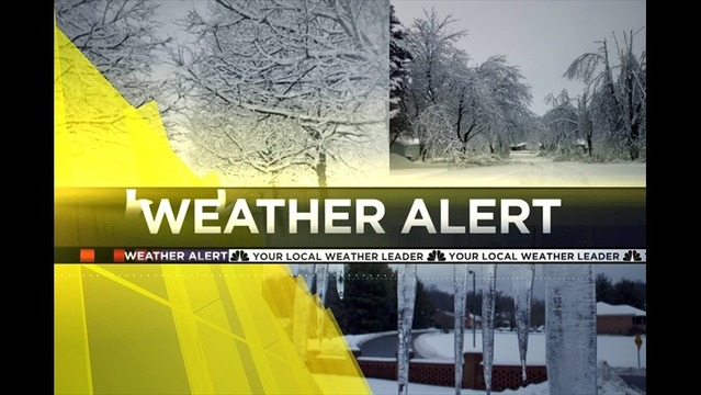Winter Weather Alert: Bryan's Monday Evening Forecast - 2/3/14