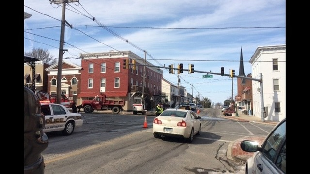 Water Main Break Causes Major Headache to Smithsburg Residents