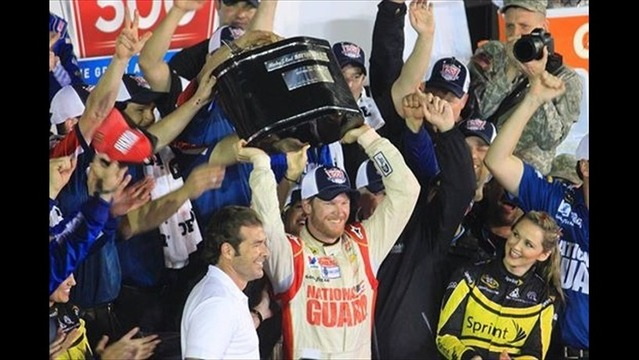 Earnhardt Jr. Wins Second Career Daytona 500