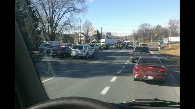 Multiple Crews Respond to Accident Along Route 9