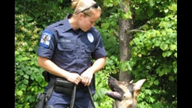 K-9 Kota and Handler to Be Recognized in Winchester