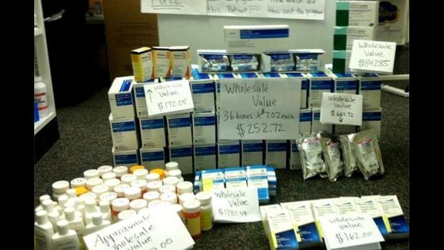 Dispose of drugs on National Prescription Take-Back Day