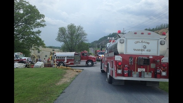 Hazmat Crew on Scene of Spill in Morgan County