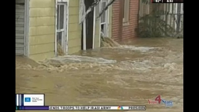 Cresaptown Cleans Up After Storm, Floods