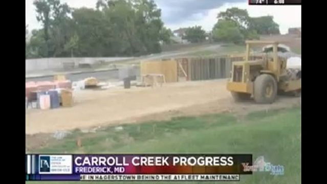 Second Phase of Carroll Creek Project Making Progress