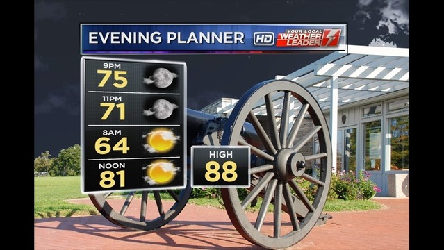 Bryan's Monday Evening Forecast: 8/4/14
