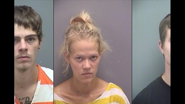 Traffic Stop Leads to Three Drug Arrests
