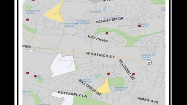 Frederick Police Investigate Multiple Thefts from Motor Vehicles