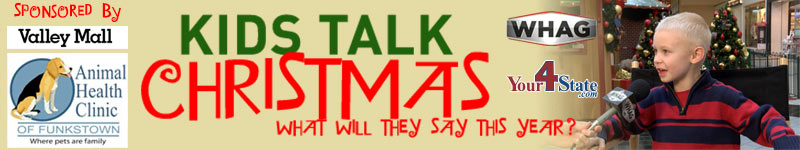 kids talk christmas on whag and your 4 state dot com