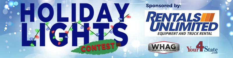 holiday lights contest on your 4 state dot com