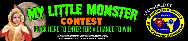 Enter the My Little Monster Contest on Local DVM dot com