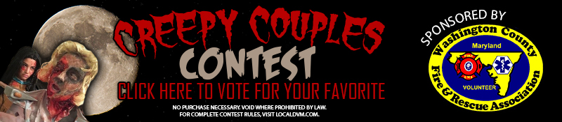 Vote for your favorite Creepy Couples costume on Local DVM dot com