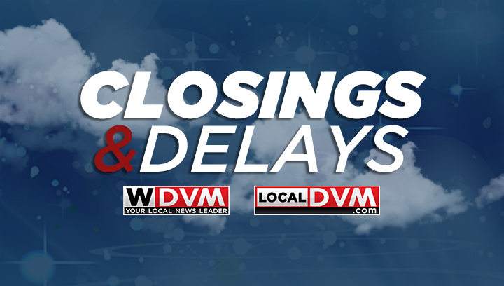 Closings and delays in Eastern NC