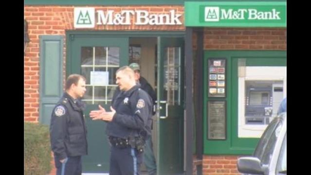 Officials Searching For M T Bank Robber In Hagerstown