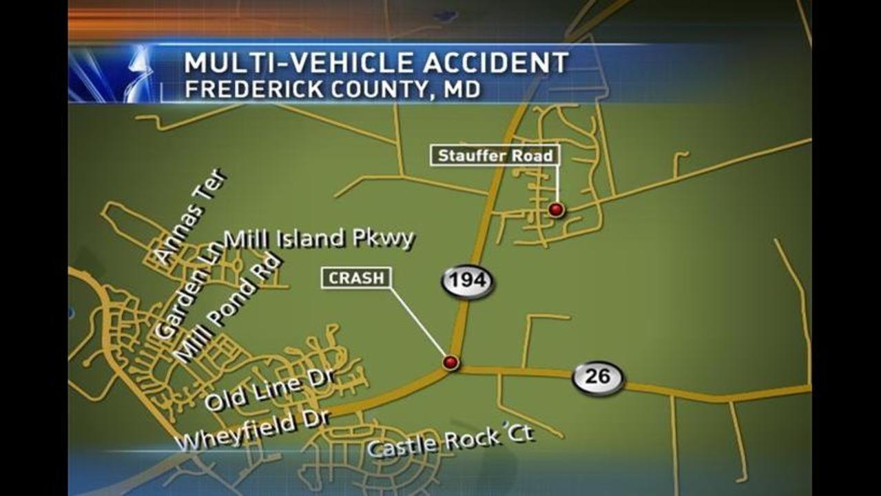 UPDATE: Frederick County Woman Seriously Hurt in Walkersville Crash