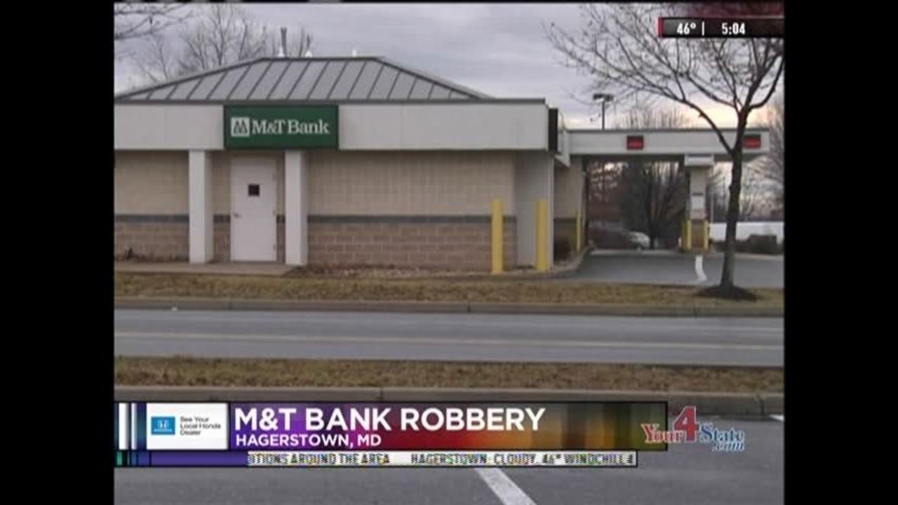 Police Search For Man In M T Bank Robbery