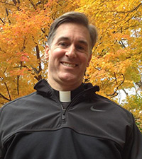 Father Collin of Saint Mary Catholic Church, Hagerstown, Maryland