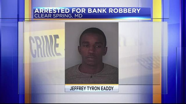Deputies On Look Out For Suspect Who Robbed M T Bank In Clear Spring