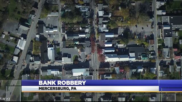 Police Seeking Man And Woman Who Robbed M T Bank In Mercersburg