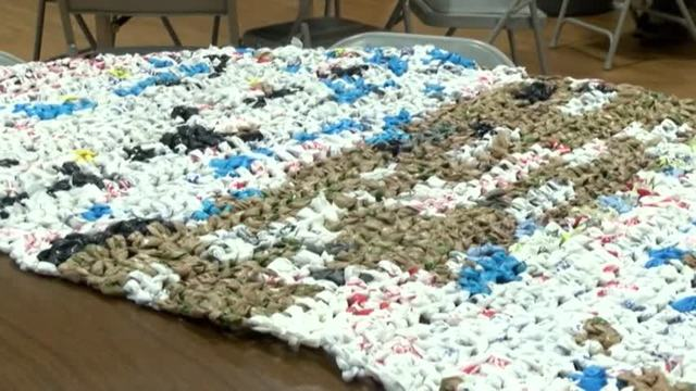 Bag To Mat Project Transforms Plastic Bags Into Sleeping Mats For The Homeless