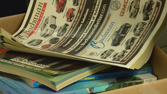 Ninth Annual Telephone Book Recycling Challenge In Washington County
