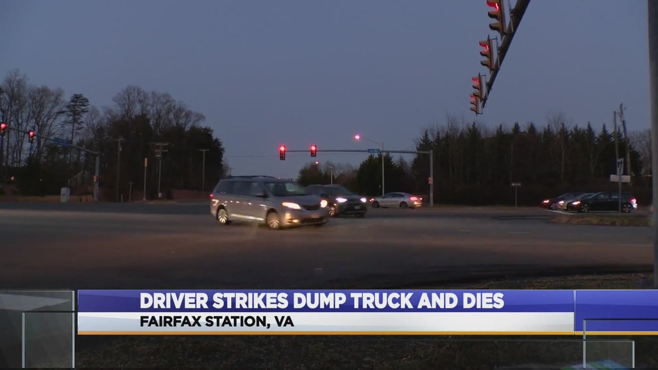 fatal truck and car collision in fairfax county